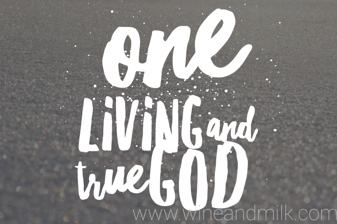 one-living-and-true-god